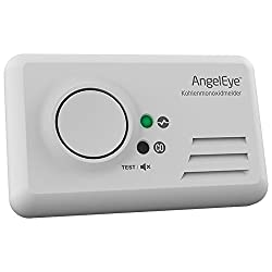 AngelEye CO Melder Kohlenmonoxidmelder + FiduciaShop Thermometer Gratis