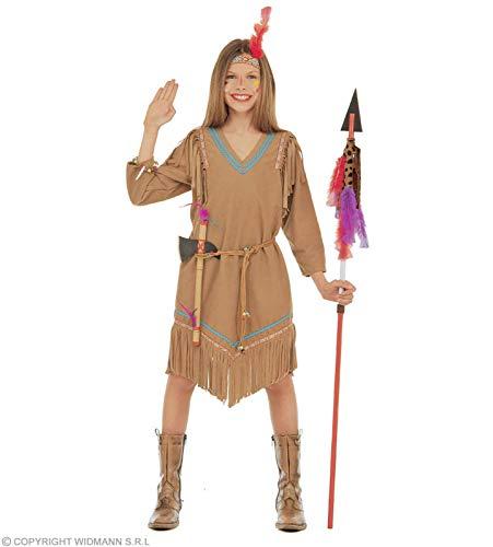 WIDMANN Widman - Disfraz de indio del oeste para niña, talla 10 (42927)