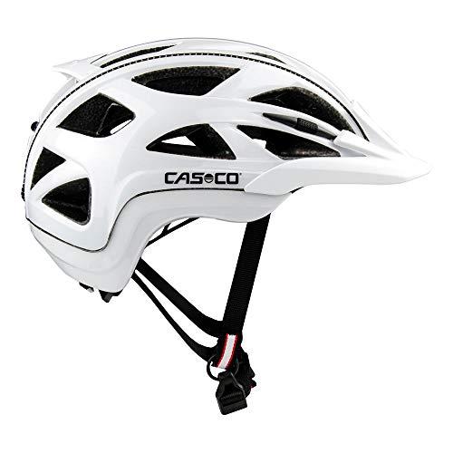Casco Activ 2 Fahrradhelm Erwachsene Radhelm weiß Glanz 58-62 cm (L)