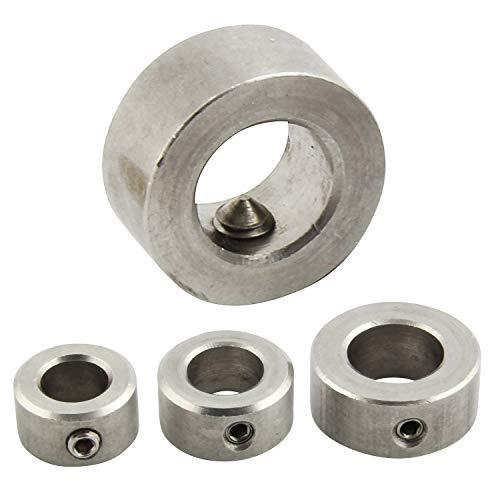 FASTON Stellringe DIN 705 für 10mm Achse/Welle Edelstahl A2 V2A (5 Stück) mit Gewindestift DIN 914 Wellensicherungen Wellenringe