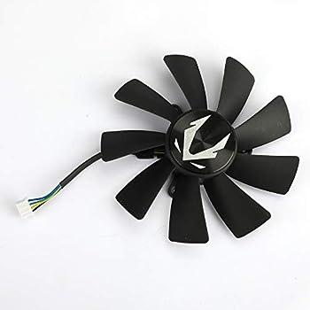 inRobert Video Card Fan Replacement Cooler for Zotac Gaming RTX 2060 Graphics Card ZT-T20600K-10M  Fan-B