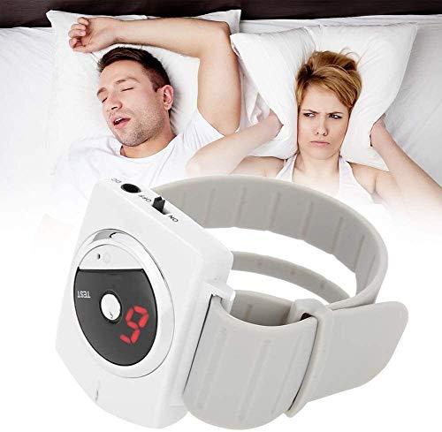 Conexión del sueño Anti ronquidos Pulsera de la Pulsera, de Infrarrojos Inteligente BiosensorSnore tapón Ayudar a la solución Natural for facilitar la respiración
