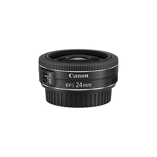 Canon EF-S 24 mm f/2.8 STM Lens - Black