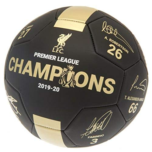 Liverpool FC Premier League Champions Football Signature (PH)