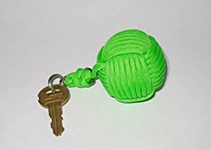 Ball Baron, Monkey Fist Key Float, Green
