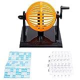 TOYANDONA 1Pc Máquina de La Lotería Máquina Consola de Juego de Simulación de Bingo & Lotto Juego de Tablero de Juego Accesorios para Dentro de Casa