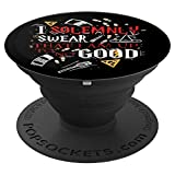 I Solemnly Swear That I am up to No Good - PopSockets Grip and Stand for Phones and Tablets