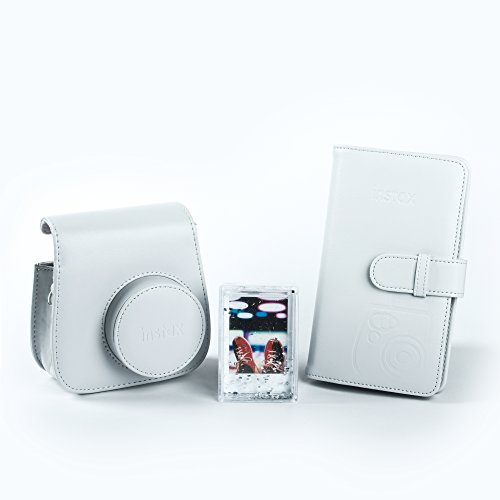Fujifilm instax Mini 9 Accessory Kit, Smoky weiß