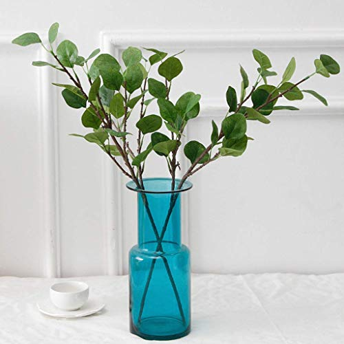 Creative Artificial Flower Simulation Plant Money Leaf Eucalyptus Green Plant Home Decor For outdoor decoration