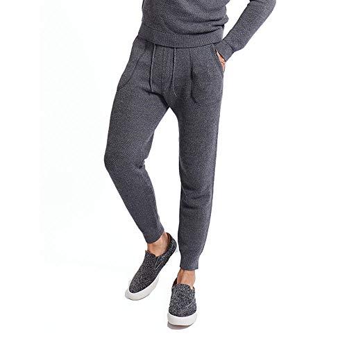 GOODLIFE Alpaca Sweater Pant-Heather Grey-Small