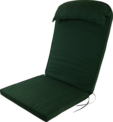 Plant Theatre Adirondack Chair High Back Cushion with Head Pillow