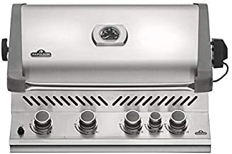 Napoleon Grills Built-in Prestige 500 with Infrared Rear Burner Propane Grill