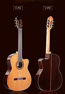 الكلاسيكية guitarsolid الأرز/روزوود الصوتية اليدوية القنصانية الصلب سلسلة الغيتار الغيتار الغيتار Makfacp Acoustic guitar