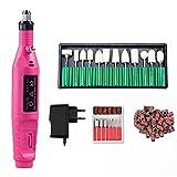Máquina de Taladro de uñas eléctrica Profesional Kit de Pluma Máquina de manicura Nail Art Pint Pedicure Nail Arch Art Tools Kit (Color : Mini Drill Set 2)