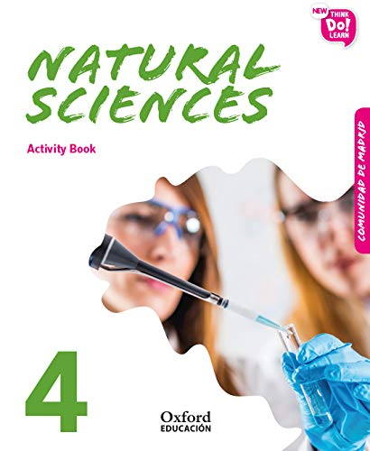 New Think Do Learn Natural Sciences 4. Activity Book (Madrid Edition)