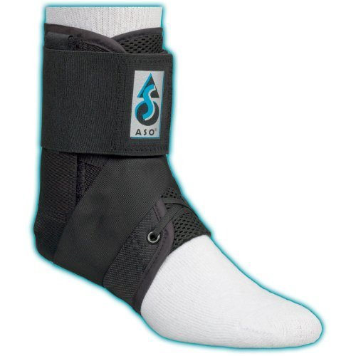 ASO Speed Lacer Ankle Brace (XSmall - Black)