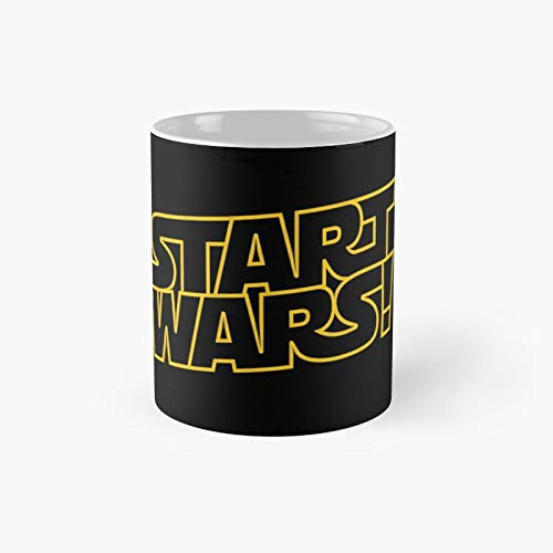 Start Wars Parody Classic Mug - 11 Ounce For Coffee, Tea, Chocolate Or Latte.