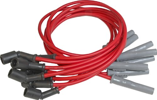 MSD 32829 Super Conductor Spark Plug Wire Set, 8.5mm thickness, 12 inches length