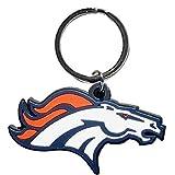 NFL Siskiyou Sports Fan Shop Denver Broncos Flex Key Chain One Size Team Color