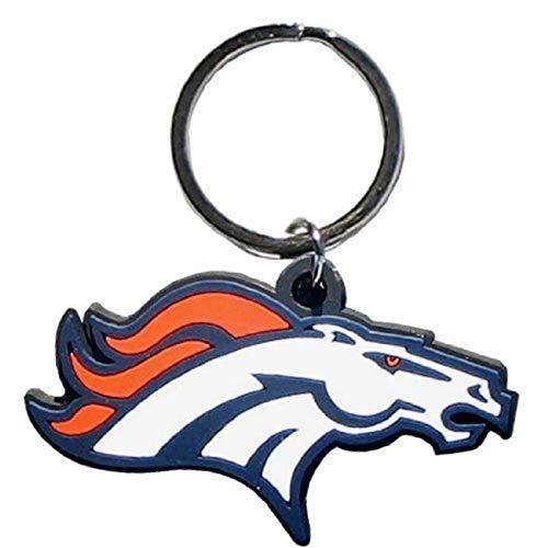 Siskiyou Sports NFL Fan Shop Denver Broncos Flex Schlüsselanhänger One Size Team Color