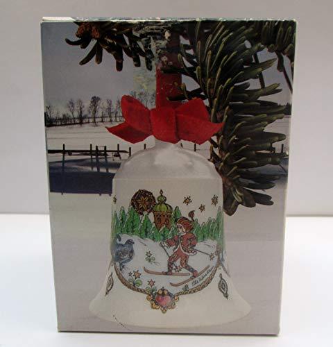 Hutschenreuther - Weihnachtsglocke 1981 - Glocke aus Porzellan - WIE NEU - OVP
