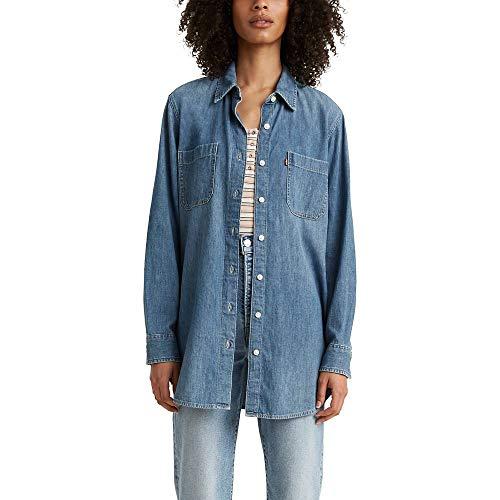 Levi's Women's Jicama Tunic Shirt, Hide And Seek Lite, X-Large