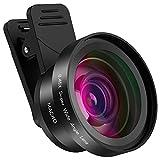 LensPro Universal HD Handy Kamera Objektiv Kit für Smartphone, iPhone, Samsung, Pixel kompatibel, Clip On Makro und Weitwinkelobjektiv