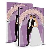 Housse de protection Ipad amusante pour mariage élégant Happy Ipad Housse de protection pour Ipad...
