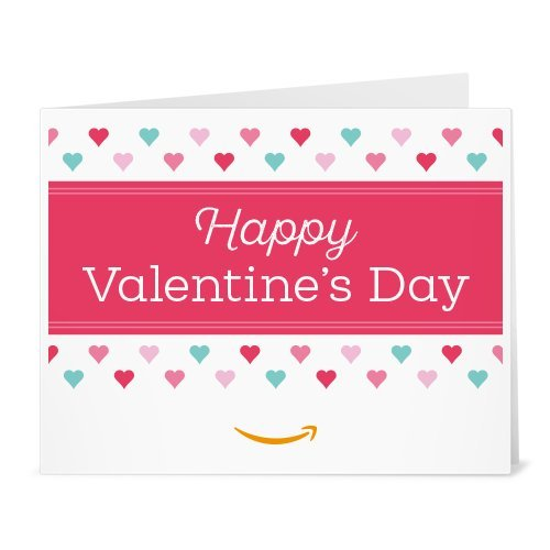 Amazon Gift Card - Print - Heart Pattern