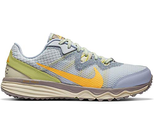 Nike Juniper Trail, Zapatillas para Correr de Carretera Niñas, Ghost/Laser Orange-Pure Platin, 18.5 EU