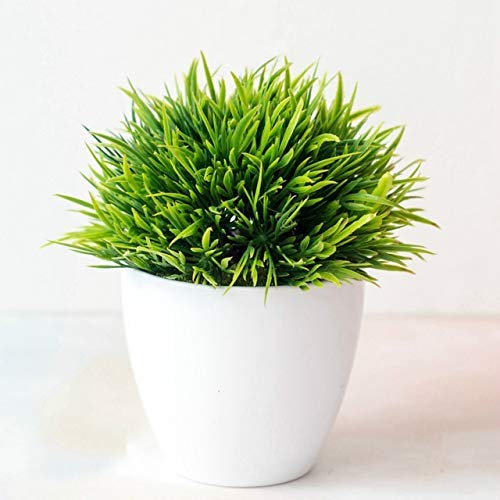 ZHENAO Artificial Plants Artificial Single Palm Leaf Simulation Plant Plastic Palm Tree Branch Greenery Plant for Floral Arrangement Palm Sunday Artificial Potted Festival Holiday H
