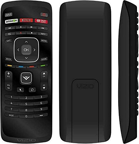 VIZIO New XRT112 2014 LCD LED TV Remote Control Amazon Netlix iHeart Radio App Key Smart LCD LED TV