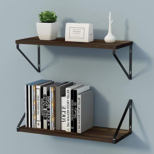 Pearl Mantels 618-48B Crestwood Wall Shelf, 48-Inch, Black, 48 Inch