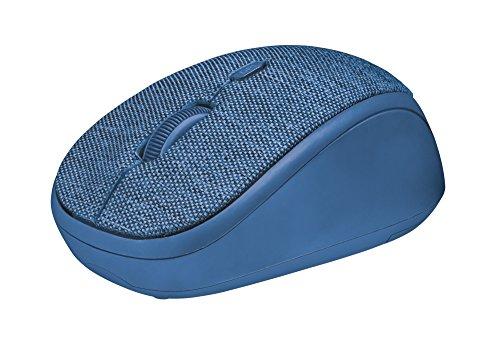 Trust Yvi draadloze muis blauw