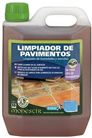 LIMPIADOR PAVIMENTOS EXTERIORES 2L MONESTIR