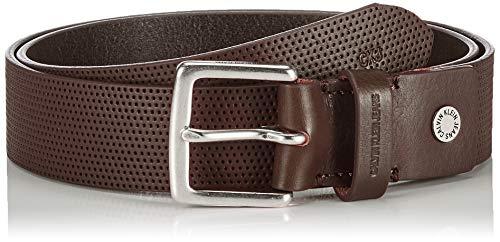 Calvin Klein Herren K50k505336 Mütze, Schal & Handschuh-Set, Braun (Bitter Brown Bap), One Size (Herstellergröße: 110)