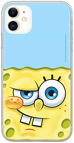 Ert Group NPCSBOB9925 Custodia per Cellulare SpongeBob 023 iPhone 11, Multicolore
