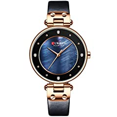 High quality japanese quartz movement with analog display, provide precise time keeping Waterproof:99FT / 30M Normal Water Resistant. Withstands wash hand , rain and splashes of water, but do not showering, diving, snorkeling or water-related work Gi...