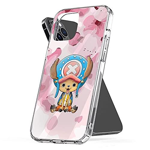 Tony Tony Chopper One Piece Anti-Scratch Protective Cajas del Teléfono iPhone 12/11 Pro MAX 12 Mini SE X/XS MAX XR 8 7 6 6s Plus Funda
