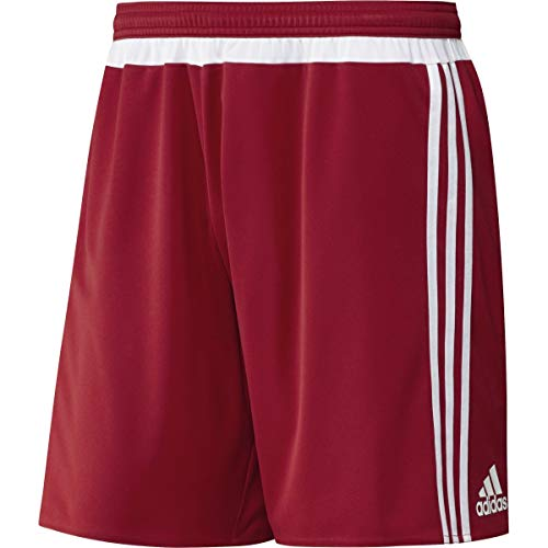 adidas Mens Mls15 Match Short Red/White S