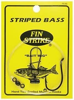 fin strike striped bass rigs