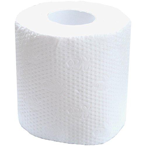 Spassprofi Toilettenpapier Nicht abreißbar Klopapier WC Papierrolle Scherzartikel