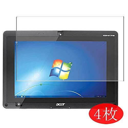 VacFun 4 Piezas HD Claro Protector de Pantalla para Acer ICONIA Tab W500 10.1
