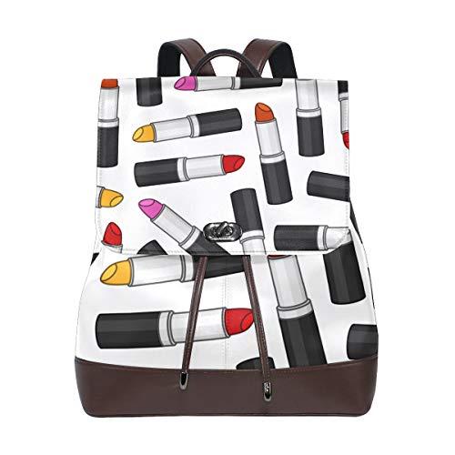 Rucksack-Lippenstift-Muster für Frauen-Mann-Nette Rucksack-Tasche im Freien beiläufiger Daypack