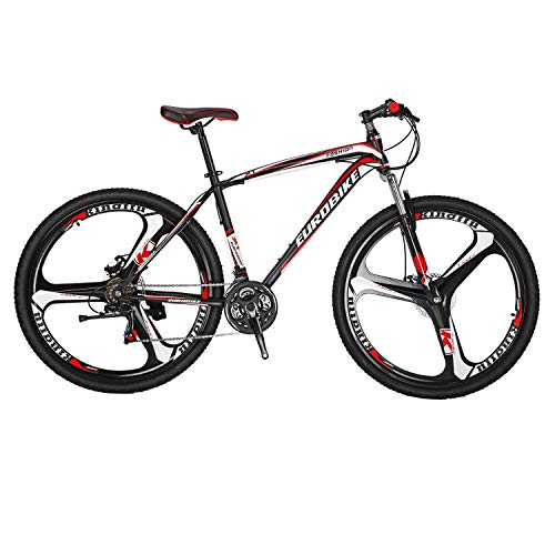 Mountain Bike X1 21_Speed Dual Disc Brake 27.5inchs Carbon_steel frame Mountain Bicycle Red