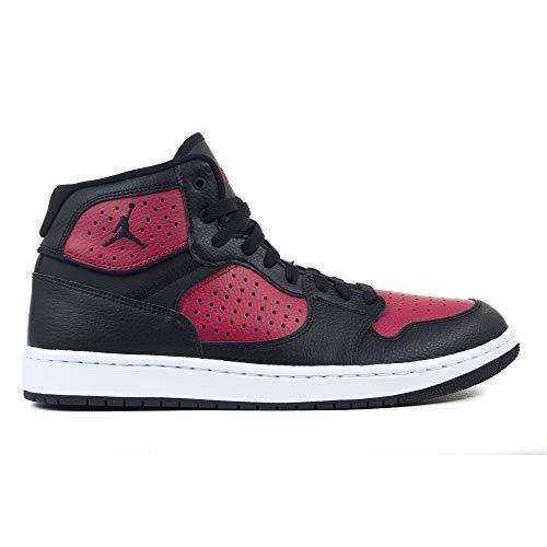 Nike Jordan Access, Zapatillas de Atletismo para Hombre, Multicolor (Black/Gym Red/White 006), 43 EU