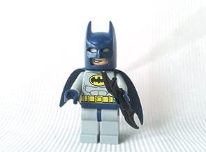 Batman (Blue & Grey) - LEGO Batman Minifigure with Batarang