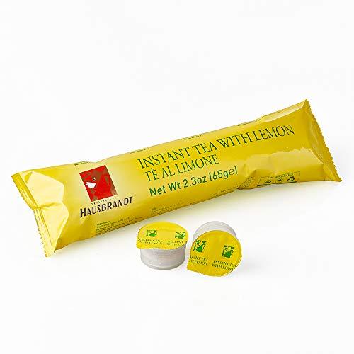 50 Capsule Hausbrandt Tè al Limone Preparato solubile per tè al limone confezionato in capsule monodose