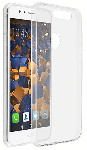 mumbi Hülle kompatibel mit Honor 8 Handy Hülle Handyhülle dünn, transparent