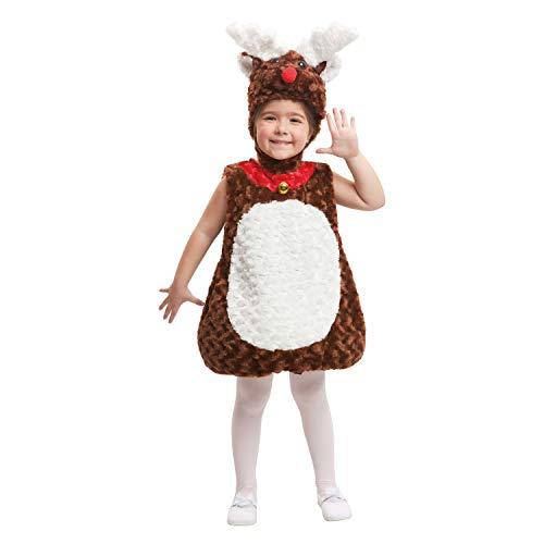 Desconocido My Other Me-203360 Disfraz de reno de peluche, 3-4 años (Viving Costumes 203360)